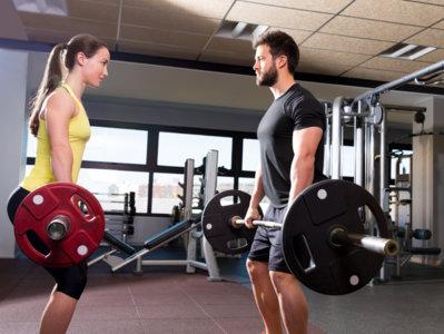 ¿Cuánto pesan las barras del gimnasio?