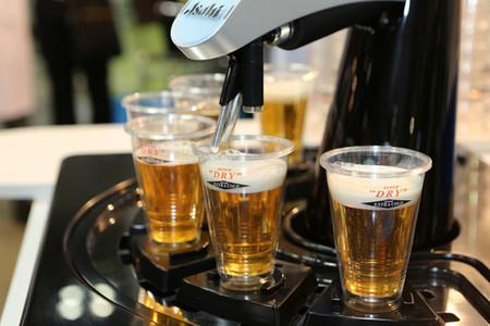 Asahi Tornado: dispensador robotizado de cerveza. El sueño de todo cervecero