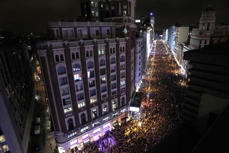Así se ha contado en el resto del mundo la histórica jornada feminista de España