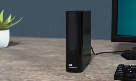 Otra vez superrebajado: el Western Digital Elements Desktop de 10 TB sólo cuesta 168 euros en Amazon y en MediaMarkt