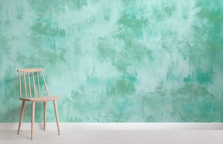 Papel Pintado Tie Dye Verde Turquesa Chair Web
