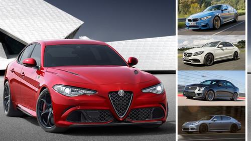 ¿Es el Alfa Romeo Giulia el 'jaque mate' a las berlinas de altas prestaciones? Así se muestra ante sus competidores