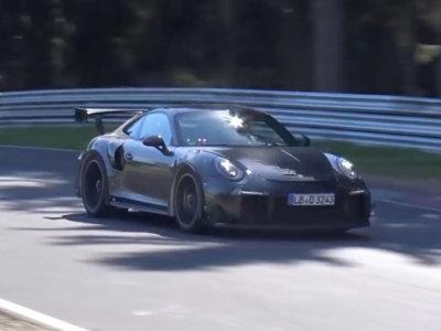 Primeras imágenes del Porsche 911 GT2 RS en el Nürburgring
