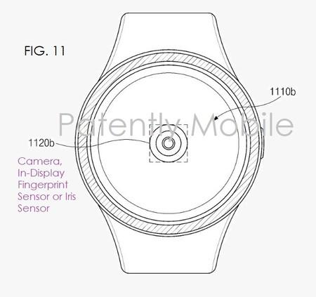 Samsung patente reloj lector de huellas