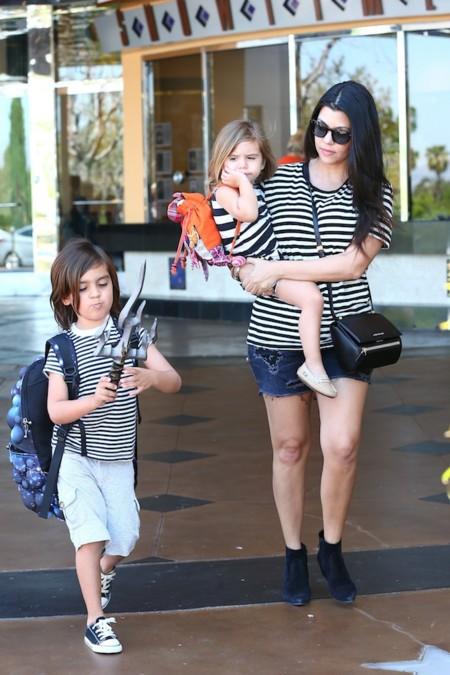 Kourtney Kardashian Hijos