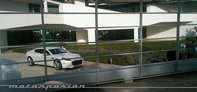 Aston Martin Rapide 2013, cazado en Barcelona