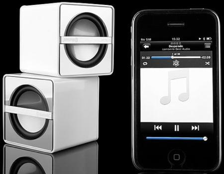 Altavoces Bluetooth para el iPhone