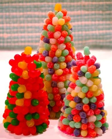 Los árboles de Navidad más dulces