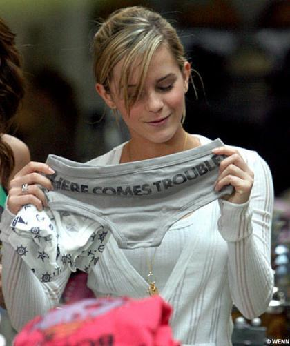 Emma Watson y Paula Echevarría unidas por las bragas