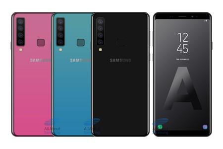 Así serían las supuestas cuatro cámaras traseras del Samsung Galaxy A9