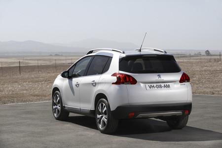 Peugeot 2008, vista posterior