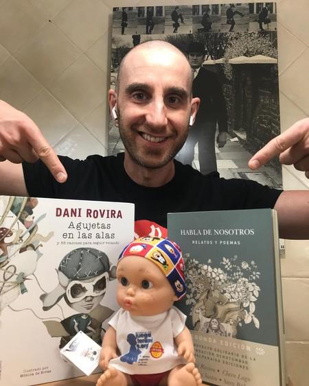 ¡Dani Rovira ha acabado la quimioterapia! El humorista lo publica en sus redes... ¿hecho un animal?