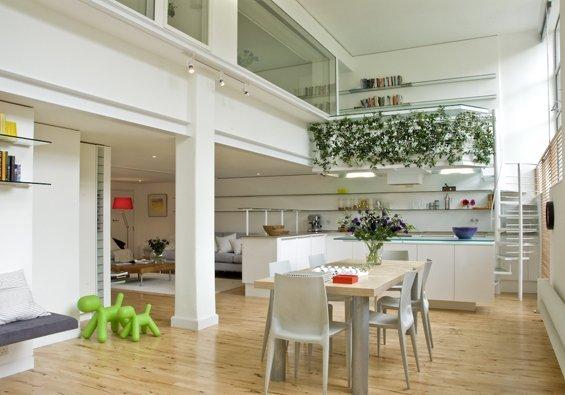 Apartamento reciclado en Londres