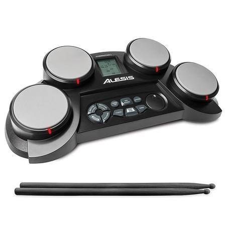 La batería electrónica   Alesis Compact Kit 4 cuesta sólo 59,99 euros en Amazon con envío gratis