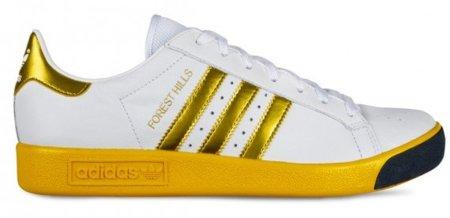 Adidas Forest Hills, oro y plata para tus pies este otoño-invierno 2011
