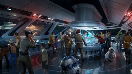 Walt Disney Worlds Star Wars Resort Concept Art Nes5