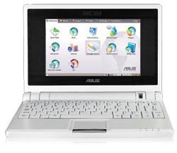 Asus Eee con pantalla de 10 pulgadas