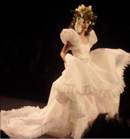 vestido novia montesinos