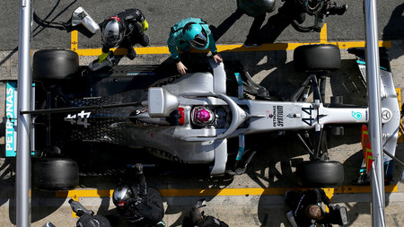 Hamilton Mercedes Ackerman F1 2020