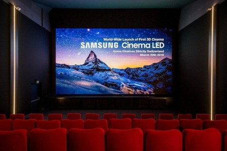 Samsung Onyx: así es como quieren jubilar los proyectores de los cines para ofrecer pantallas LED 4K, HDR y hasta 3D