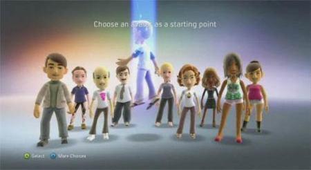 Xbox 360 - Avatares