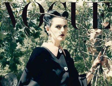 ¡Vuelven los góticos! Al menos a Vogue Italia con Stella Tennant