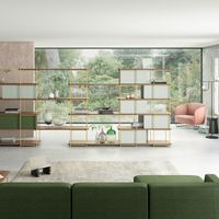 Los ambientes de hoy necesitan muebles versátiles como Julia de Momocca que se adapta al espacio