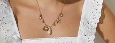 Los collares de conchas se han convertido en el complemento de moda del verano