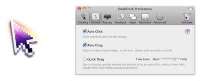 Dwellclick 2.0, controla tu Mac sin hacer ningún clickcon el ratón