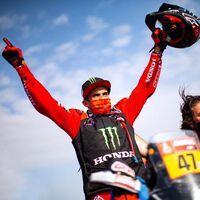 Kevin Benavides es el ganador del Dakar y Ricky Brabec completa el doblete de Honda tras ganar la etapa final