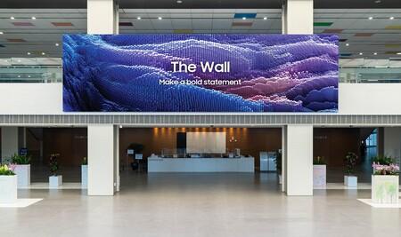 1,000 pulgadas, resolución 16K y microLED: así es la pantalla de Samsung más grande hasta ahora, The Wall 2021