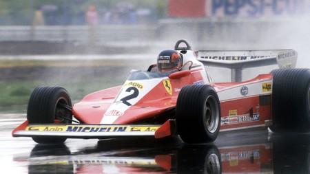 Gilles Villeneuve Ferrari F1 2