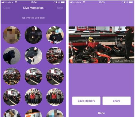 Live Memories aprovecha tus Live Photos para crear vídeos a modo de recuerdos