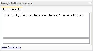 Multiconferencia con Google Talk y Google Desktop 3