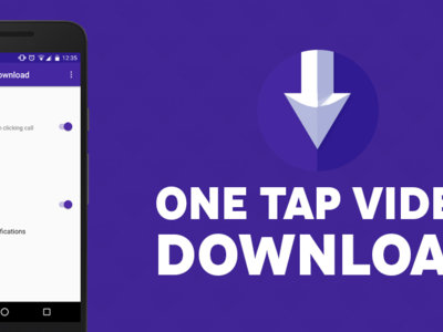 One Tap Video Download, un módulo de Xposed para descargar videos en cualquier web