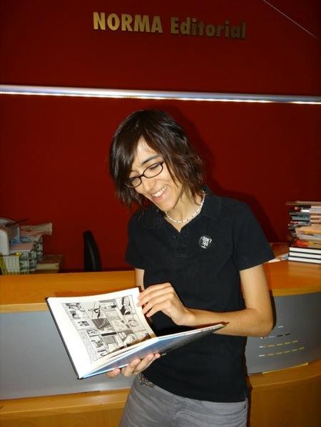"""Susanna Martín, autora de cómics: """"el cómic posee  un lenguaje narrativo y es una manera genial para aprender a leer """""""