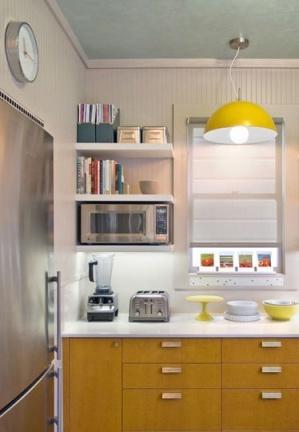Puertas abiertas: una cocina amplia y funcional