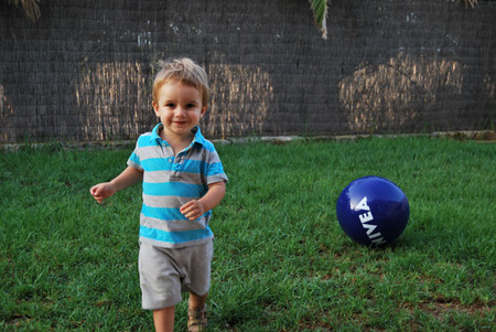La foto de tu bebé: Bruno y sus primeras vacaciones en el campo