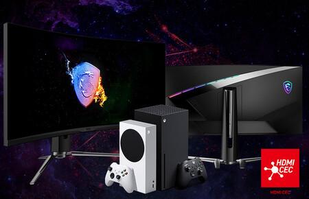 MSI lleva la función HDMI CEC a sus monitores gaming para que puedas encenderlos con el mando de las consolas