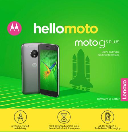 El Moto G5 Plus, uno de los mejores móviles de la gama media, alcanza su precio mínimo: 229 euros