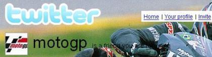 Canal Moto GP en Twitter