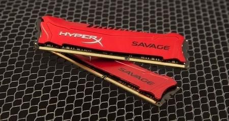 Kingston HyperX Savage es memoria DDR3 con apariencia más agresiva
