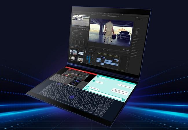 Yoga Book 2 y Project Precog plantean un futuro de portátiles con dos pantallas (y sin teclado o touchpad)