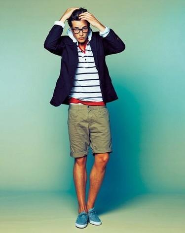 ¿Te atreves a llevar pantalón corto con chaqueta?