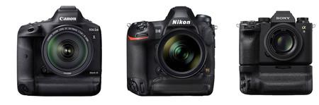 Canon Eos 1dx Mark Iii Vs Nikon D6 Y Sony A9 Ii Tabla