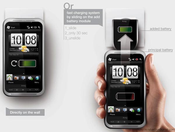 Foto de Concepto de enchufe integrado en el móvil (4/7)