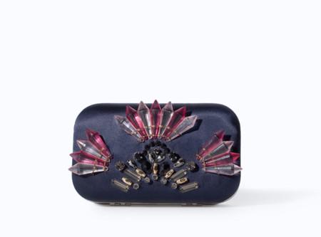 Mawi Glitter clutch Otoño-Invierno 2013-2014 clon Zara Primavera 2014