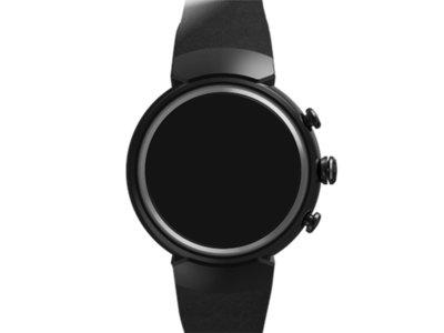 ZenWatch 3, así sería el tercer smartwatch de la marca y el primero con pantalla circular