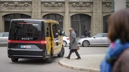 Esta es la furgoneta eléctrica de MOIA, la compañía de car sharing de Volkswagen