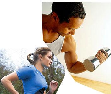 ¿Ejercicio aeróbico o pesas para mantener el peso?